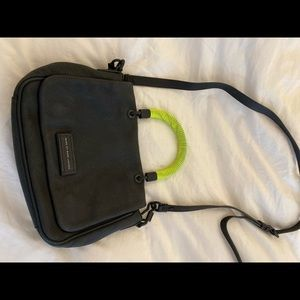 Marc by Marc Jacobs Black Crossbody w/ Neon Handle